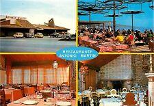 Restaurante Antonio Martin Malaga Spain Postcard cafe old cars