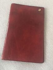 ETIENNE AIGNER VINTAGE Brieftasche dunkelrot 80er Jahre Rar
