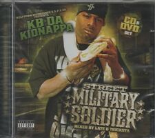 KB DA KIDNAPPA Street Military Soldier CD ALBUM + DVD   NEW - STILL SEALED