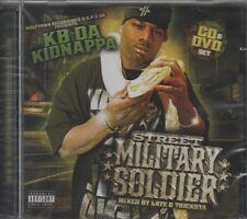 KB DA KIDNAPPA Street Military Soldier CD ALBUM + DVD   NEW - STILL SEALED