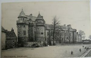 Old Postcard Of The Palace Falkland 1905