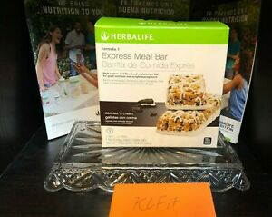 Herbalife Formula 1 Express Meal Bar Cookies n' Cream Flavor, 7 bars