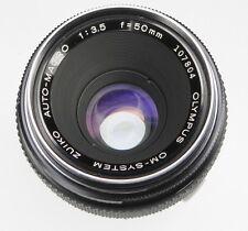 Olympus OM 50mm f3.5 Macro  #107804