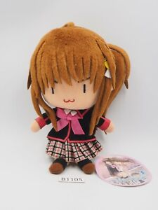"""Little Busters! B1105 Rin Natsume Key Visual Art SK Japan 6"""" Plush Toy Doll"""