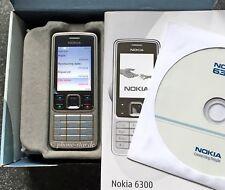 NOKIA 6300 BUSINESS HANDY MOBILE PHONE TRI-BAND KAMERA BLUETOOTH VW AUDI NEU OVP