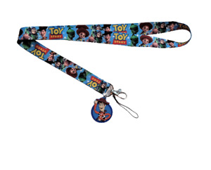 Toy Story Lanyard Stainless Steel Key Ring Handmade Cell Phone Lanyard