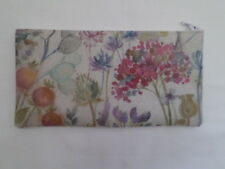 HANDMADE OILCLOTH PENCIL CASE - VOYAGE HEDGEROW FABRIC