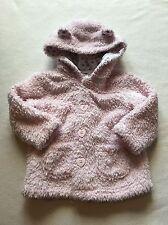 Baby Girls Clothes 9-12 Months - Cute Girl Pink Fleece Jacket -