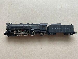 N scale Minitrix 2072 Pennsylvania #5495 steam locomotive 9MM NEEDS REPAIR FIX