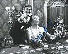 Diana Rigg signed James Bond 8x10 Photo. In Person Proof. 007 George Lazenby