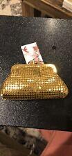 Rebecca molenaar gold Metal small  purse