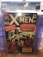 X-men 5 Cgc 6.0 3rd Magneto N 2nd Scarlet Witch N Quicksilver