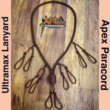 Duck/ Goose/ Predator Call Para cord Lanyard Handmade