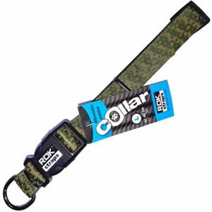 Rok Dog - Jungle Green Camo with black Collar for dogs - Dogfoods4u
