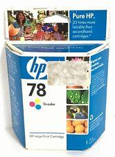 HP 78 Tri-Color OEM Genuine Inkjet Ink Cartridge Cyan Magenta NEW Expired OCT 08