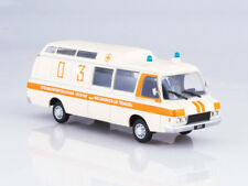 ZIL-118KA Ambulance Soviet Minibus 1979 Year 1/43 Scale Collectible Model Car