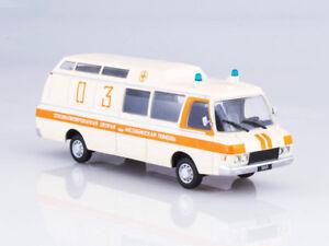 ZIL-118KA Ambulance Soviet Minibus 1979 Year 1/43 Scale Collectible Model Car