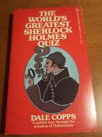 Dale copps The World's Greatest Sherlock Holmes Quiz Paperback