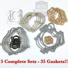 *Lot Of 5*  Complete Gasket Kit For 66cc 80cc Motorized Bicycle - HIGH Quality!!