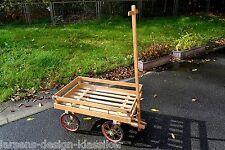 alter schöner Leiterwagen Handwagen Transport Deko Holz Landhaus Shabby Chic
