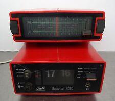 Kultiges orologi Radio Radio Sveglia Radio pieghevole numeri SVEGLIA Graetz forma 99 1974-75