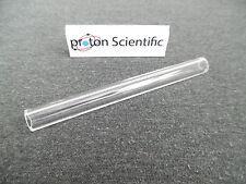 1 x Quartz Glass Tube 100mm x 10mm Laboratory Glassware connection Tube