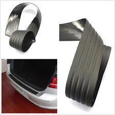 Wear-resisting Car SUV Rear Bumper Protector Guard Trim Cover Rubber Black Sill