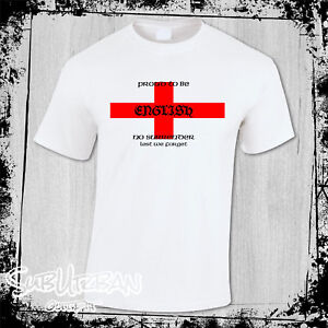 St George's Day Proud to be English Men's T-Shirt English patriot #2