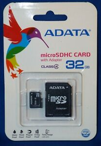 32gb MicroSD Micro SD Card TF Flash Memory Card 32 GB G 32g ADATA Class 4