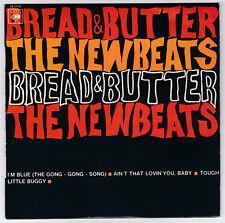 EP 45 TOURS THE NEWBEATS  BREAD AND BUTTER  CBS 5916 BIEM en 1963