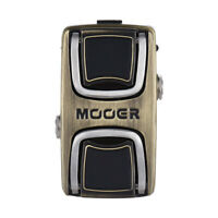 Mooer The Wahter Wah Guitar Effect Pedal Classic Wah Effect Tone Dual Activation