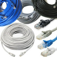 RJ45 Cat5e Network LAN Cable Ethernet Patch Lead Short - Long 1m - 50m Wholesale