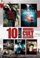 10-FILM HORROR CULT CLASSICS COLLECTION (2PC) - DVD - Region 1 - Sealed