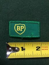 "BP OIL GAS SERVICE STATION 2"" PATCH EMPLOYEE ADVERTISING BRITISH PETROLEUM"