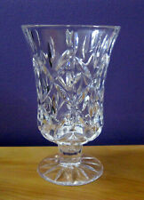 Lenox Crystal Candle Holder With Flower Candle New