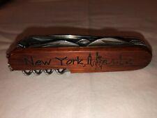 "TSA CONFISCATED SWISS ARMY STYLE POCKET KNIFE ""NEW YORK CITY / SCOTT"""