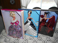 BALLROOM BEAUTIES  SET OF 3 BARBIE COLLECTOR 14YRS AND OLDER LIMITED EDITION
