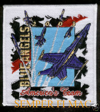2003 US NAVY BLUE ANGELS PATCH 57TH ANNIVERSARY ANGEL