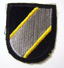 JOINT SPECIAL OPERATIONS COMMAND AIRBORNE BERET FLASH  U.S. ARMY - FULL COLOR:FA