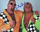Jim Neidhart Signed WWE 8x10 Photo PSA/DNA COA The Anvil Picture Hart Foundation