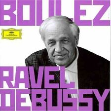 Boulez Conducts Ravel & Debussy (2012) brand new and sealed