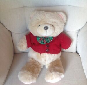 """FOREVER FRIENDS ANDREW BROWNSWORD LARGE TEDDY BEAR 17"""" SOFT PLUSH TOY"""