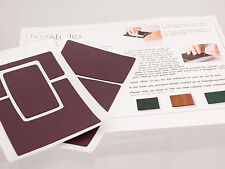 Polaroid SX-70 Model 2 Leatherette Replacement Cover W/ Instructions - Burgundy