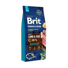 15kg Brit Premium By Nature Sensitive Lamb weizenfreies Hundefutter