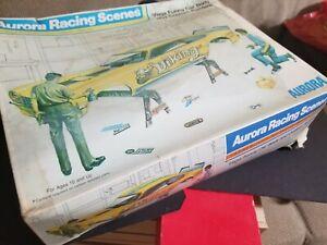 1973 Aurora Racing Scenes Vega Funny Car Body And Custom Painters 1/16 Scale