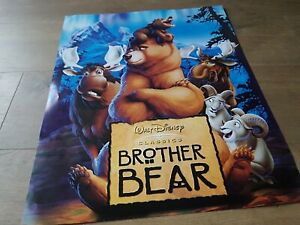 BROTHER BEAR .. WALT DISNEY CLASSIC FROM 2003  UK ORIGINAL MOVIE POSTER