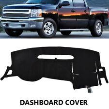 Dash Mat Dashboard Cover Dashmat For Chevy Silverado 1500 07-2013 2 Glove Boxes