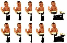 Anne Geddes Baby Scrapbook Stickers! Baby on a Scale 10 Sheets!!