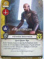 A Game of Thrones 2.0 LCG - 1x #052 Stannis Baratheon dt. - Base Set - Second Ed