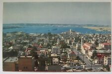 SAN DIEGO CA Town View and Harbor Postcard